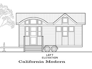 All of our tiny house plans are just a starting point, and then you can customize all the options.