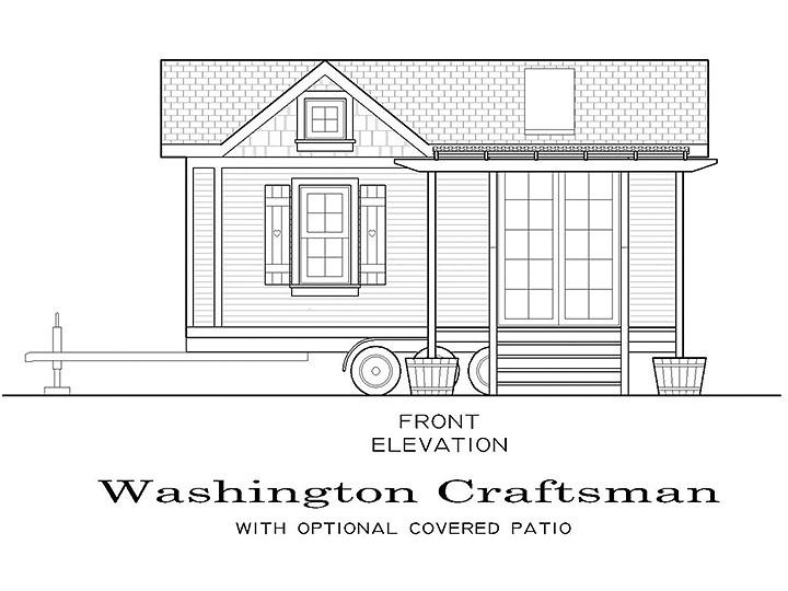 Washington craftsman for Small house plans washington state