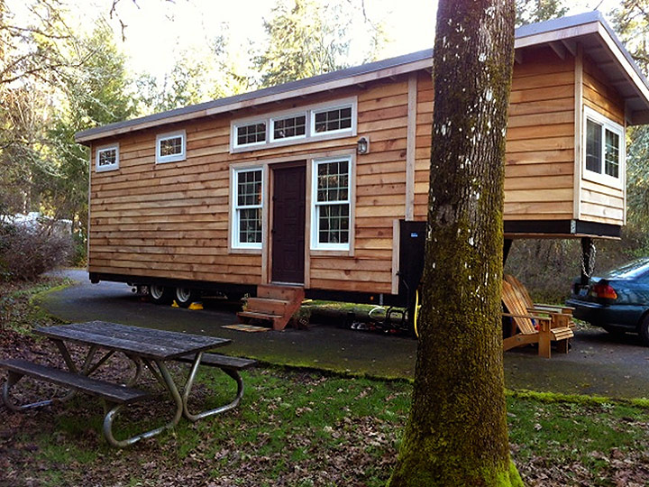 gooseneck trailer tiny house