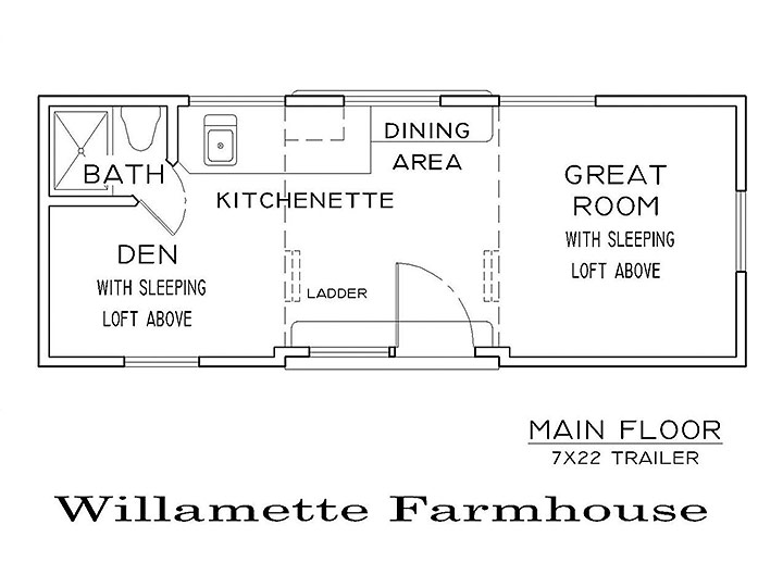 Willamette farmhouse for Smart home plan